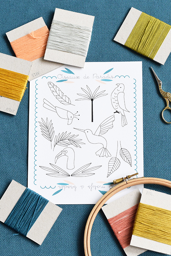 Défi Broderie Frenchie N°4 : SS2017