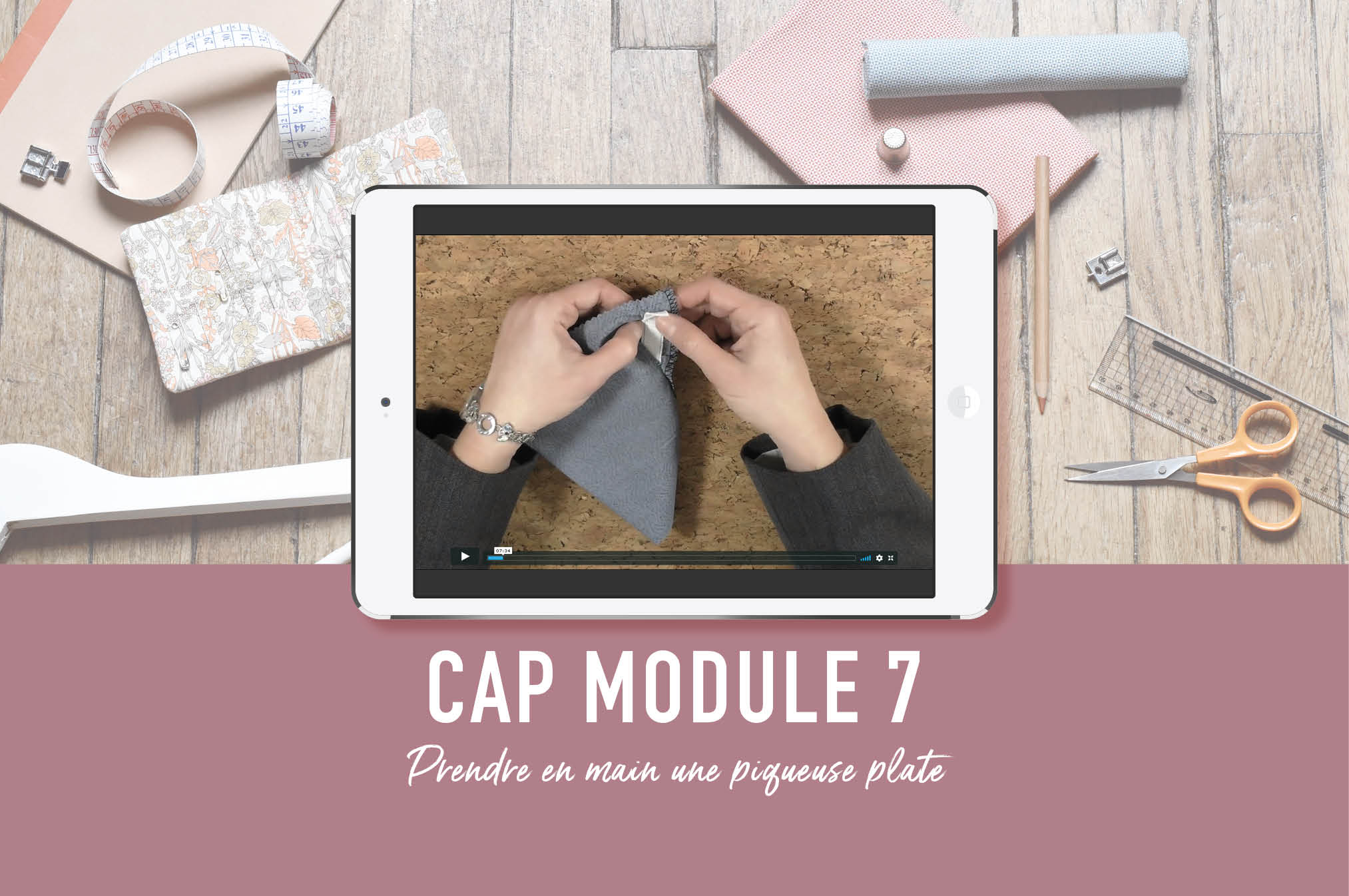 cap couture floue